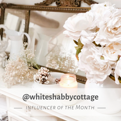 Influencer of the Month - September - whiteshabbycottage