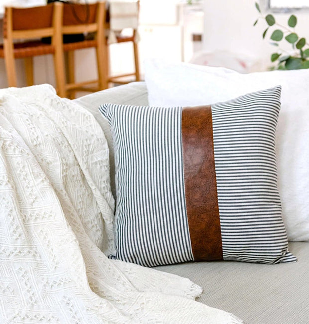 Aston Striped Pillow Cover