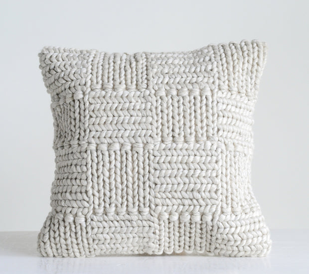 Harper Knit Pillow, 20""