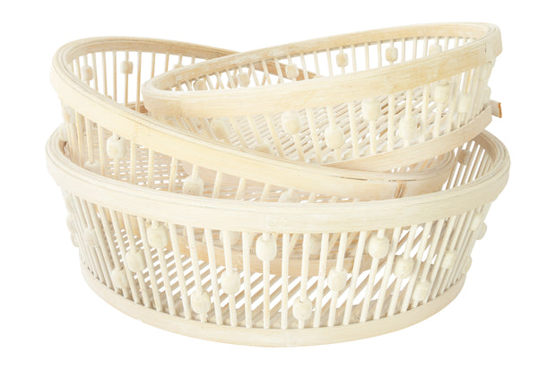 Caledonia Decorative Baskets, Set of 3
