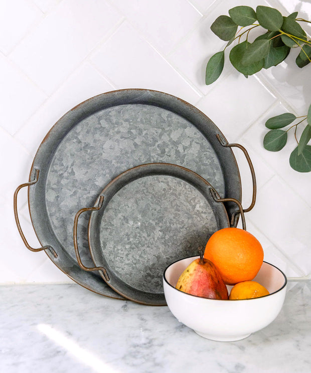Apollo Distressed Metal Trays