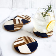 Geometric Coasters, Set of 4