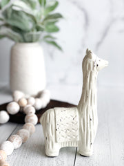Decorative Cast Iron Llama