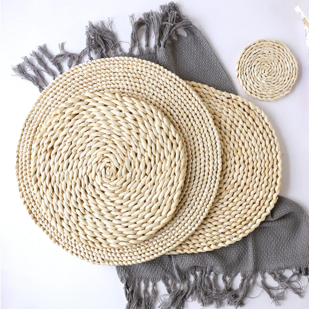 Kani Woven Coasters (Set of 4)