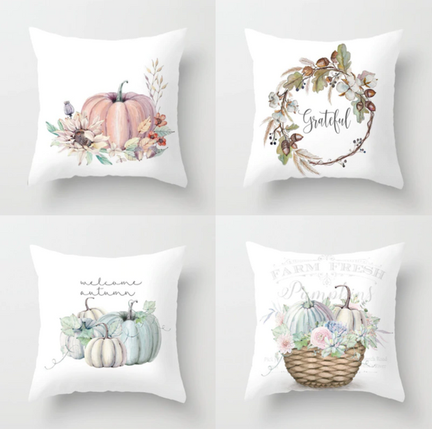 Farm Fresh Autumn Pillow Covers