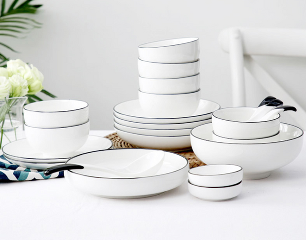 Weston Dinnerware Collection, Sets of 4