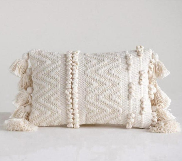 "Isabelle Lumbar Pillow, 14"" x 9"""