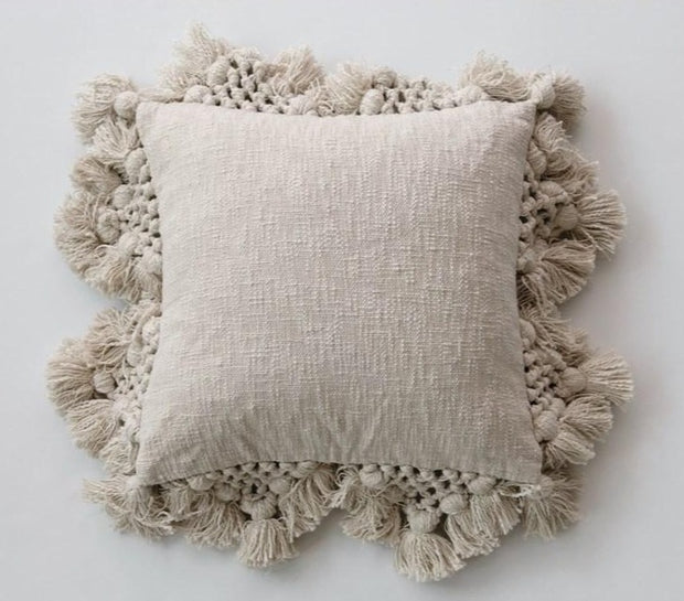 Eden Fringe Pillow