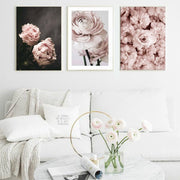 Pink Peonies Wall Art