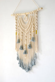 Boho Macrame Dream Catcher Wall Hanging
