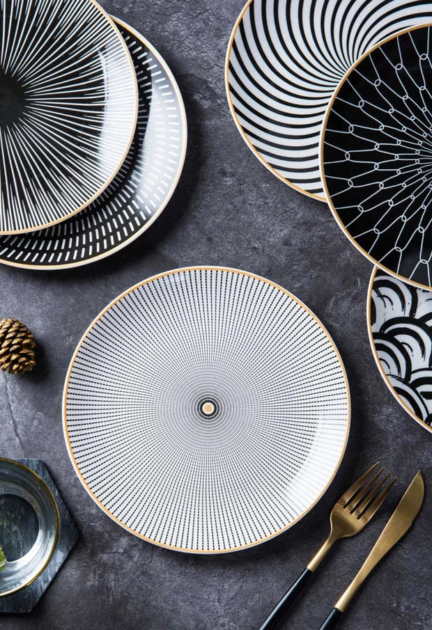 Paloma Plate Collection, Set of 4