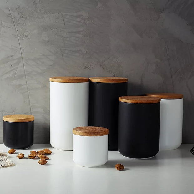 Modern Ceramic Canisters