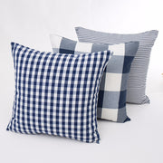 Plaid & Striped Pillow Covers