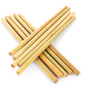 Reusable Bamboo Straws (Set of 5)