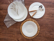Juliette Bone China Plate, Set of 4