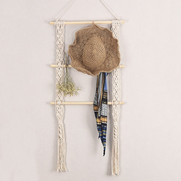 Boho Macrame Hanging Ladder