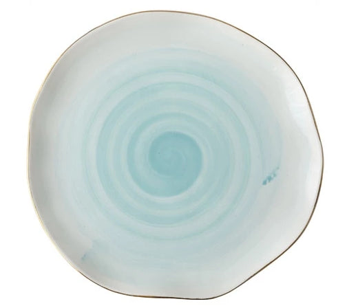 Celeste Glazed Dish Collection, Ocean
