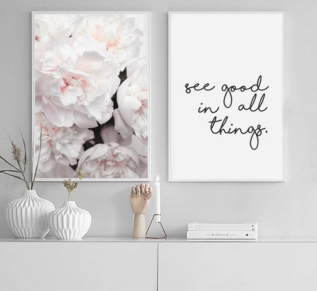 Floral Serenity Wall Art
