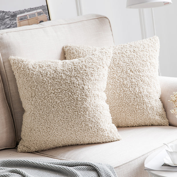 Sunday Sherpa Pillow Covers