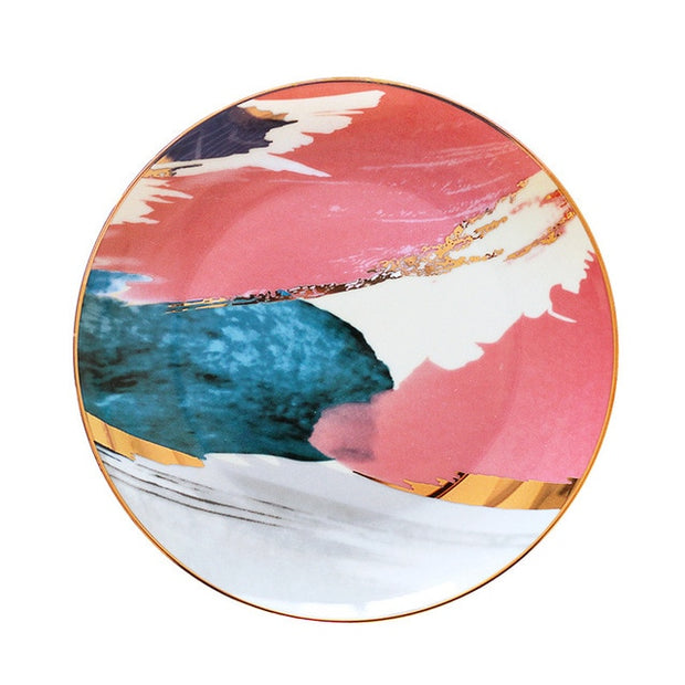 Naomi Plate Collection, Set of 4