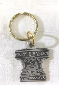 Kettle Valley Steam Railway Keychain