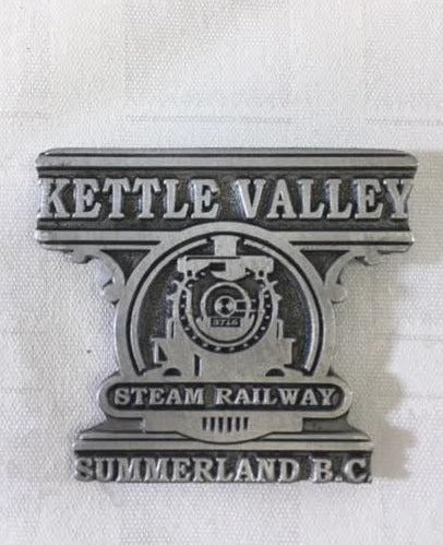 Kettle Valley Steam Railway Fridge Magnet