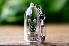 Buddha's Temple Succulent Keychain