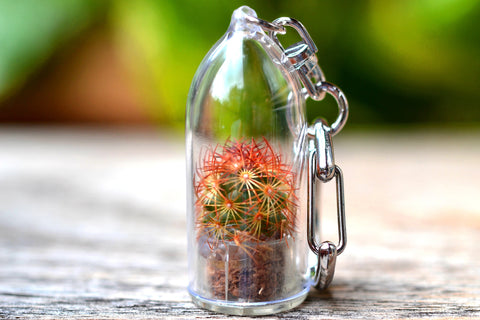 Copper King Cactus Keychain