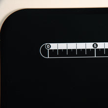 Load image into Gallery viewer, Cutting Board, black, flexible, plastic, dimensions: 37 x 25cm