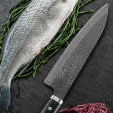 Load image into Gallery viewer, KIZUNA Chef's Knife - ceramic/Pakkawood, blade length: 18 cm