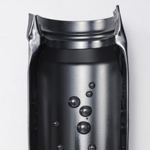 Load image into Gallery viewer, FLIP TOP - Travel Mug, stainless steel (350 ml), stainless steel/ceramic, height: 17.5 cm