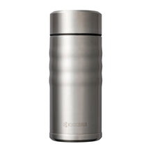 Load image into Gallery viewer, TWIST TOP - Travel Mug, stainless steel (350 ml), stainless steel/ceramic, height: 16.5 cm