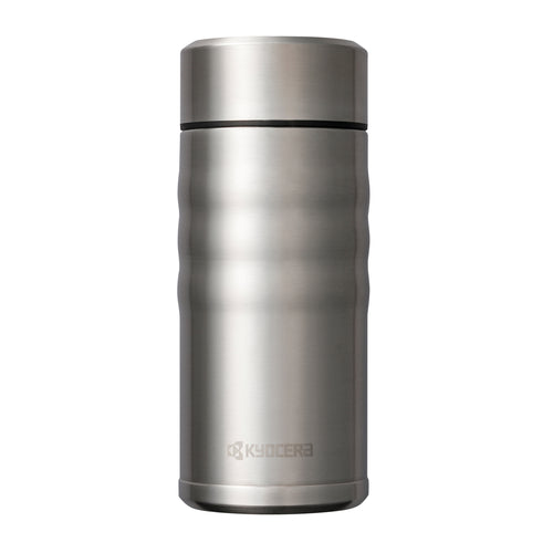 TWIST TOP - Travel Mug, stainless steel (350 ml), stainless steel/ceramic, height: 16.5 cm
