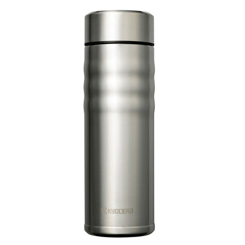 TWIST TOP - Travel Mug, stainless steel (500 ml), stainless steel/ceramic, height: 21 cm