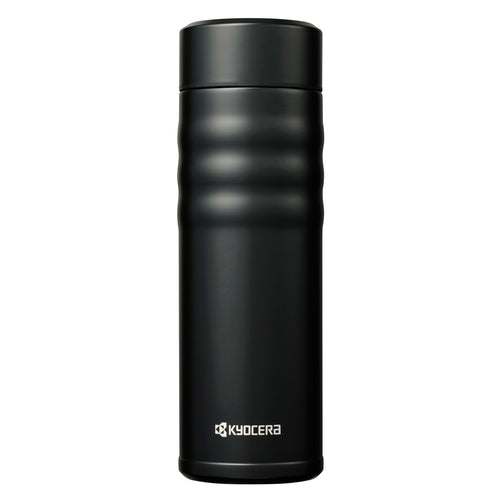 TWIST TOP - Travel Mug, black (500 ml), stainless steel/ceramic, height: 21 cm