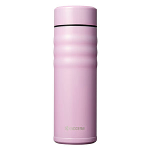 TWIST TOP - Travel Mug, pink (500 ml), stainless steel/ceramic, height: 21 cm