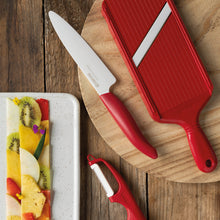 Load image into Gallery viewer, GEN RED Slicing Knife, plastic/ceramic, blade length: 13 cm