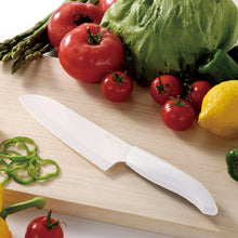 Load image into Gallery viewer, GEN WHITE Slicing Knife, plastic/ceramic, blade length: 13 cm