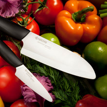 Load image into Gallery viewer, GEN Santoku Knife, plastic/ceramic, blade length: 14 cm