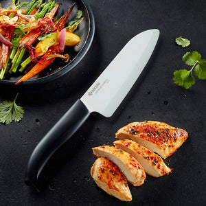 GEN Chef's Santoku Knife, plastic/ceramic, blade length: 16 cm
