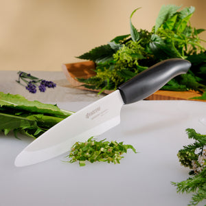 GEN Chef's Knife, plastic/ceramic, blade length: 18 cm