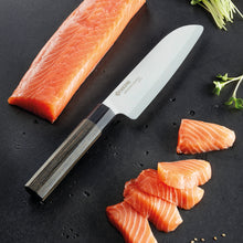 Load image into Gallery viewer, FUJI Santoku Knife, Pakkawood/ceramic, blade length: 15 cm