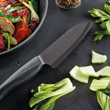 Load image into Gallery viewer, SHIN Santoku Knife, plastic/ceramic, blade length: 14 cm