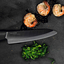 Load image into Gallery viewer, SHIN Chef's Knife, plastic/ceramic, blade length: 18 cm
