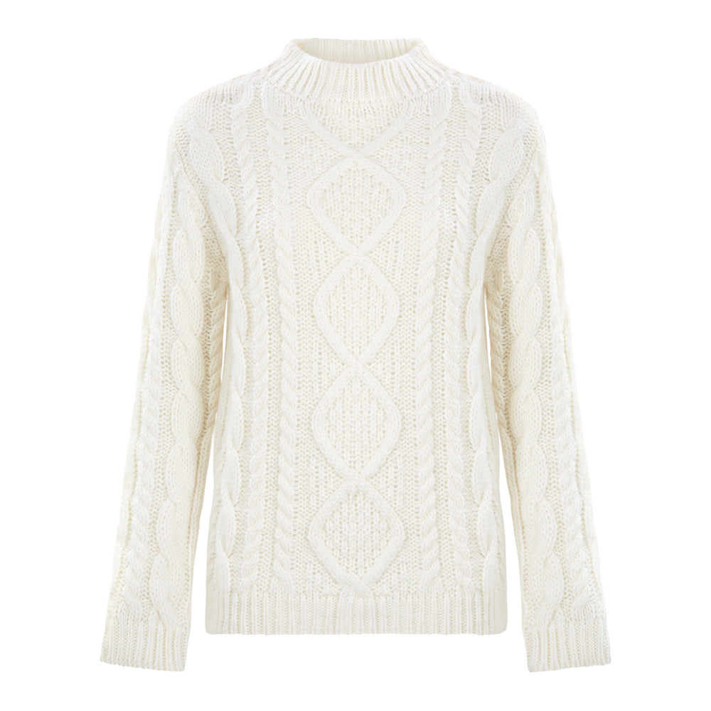 White Glacier Knit - Strickpullover