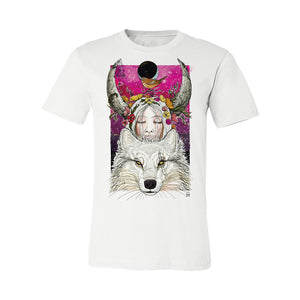 Winter Wolf Tee by Dino Nemec
