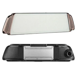 1080P FHD Dual Lens Rearview Mirror DVR - Car Dealzz
