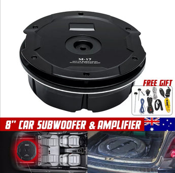 8'' 380W 4 ohm Car Subwoofer Power Amplifier Stereo Bass Audio Dual Speaker - Car Dealzz