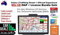 OziExplorer WinCE Australian MAP 16GB - Car Dealzz