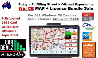 OziExplorer WinCE Australian MAP 16GB-Car Dealzz